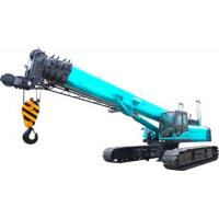 Wholesale U Type High duty hydraulic mobile crane with smooth rotation , 11.2m Jib length from china suppliers