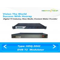 Quality DVB T /DVB-T2 COFDM Modulator ASI IP Input  Multi PLP SISO Wireless Network for sale