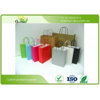 Wholesale Die Cutting Printed Paper Gift Bags , Kraft Personalized Paper Gift Bags  from china suppliers