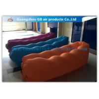 Wholesale Outdoor Travel Inflatable Sleeping Bag For Kids / Adults , Inflatable Sofa Bag Fashion from china suppliers