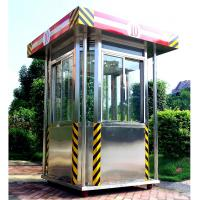 Wholesale Exterior Parking Security Guard Booths House Of Stainless Steel from china suppliers