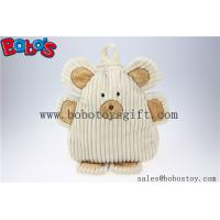 "Wholesale 11.8""Lovely Beige Bear Children's Backpack Bos-1236/30cm from china suppliers"