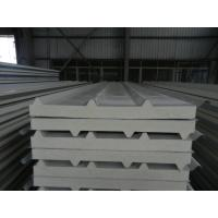 Wholesale Insulated pu foam sandwich panels , polyurethane building panels for steel structure plant from china suppliers