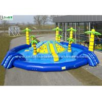 Wholesale Giant Inflatable Jungle Island Water Park Lead Free Pvc Tarpaulin from china suppliers