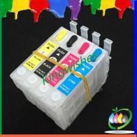 Wholesale refillable ink cartridge for Epson PX-405A with auto reset chip from china suppliers
