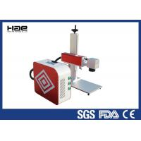 Wholesale Portable Laser Marking Machine , Air Cooling 50 Watt Laser Engraver For Metal from china suppliers