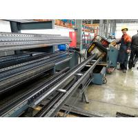 Wholesale Warehouse Storage Racks Upright Teardrop Frames Roll Forming Machine from china suppliers