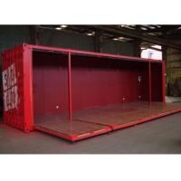 Wholesale foldable wall panel doors 40 HQ modified shipping container house from china suppliers