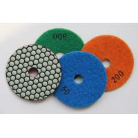 "Wholesale 4"" Dry Use Diamond Polishing Pads for granite/marble/stones from china suppliers"