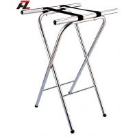 Wholesale Stainless Steel Folding Tray Stand-Tubular Luggage Racks from china suppliers