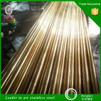 Wholesale Foshan Manufacturer 201 304 316 color stainless steel pipe and compression price per kg from china suppliers