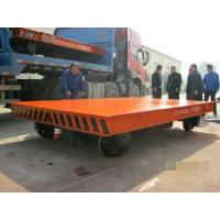 Wholesale Heavy Duty Rail Flat Electric Transfer Cart For Workshop 30 Ton Capacity from china suppliers