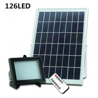Wholesale Solar Powered LED Flood Light Remote Controller Garden Light LED Floodlight Outdoor Emergency Camping Lights from china suppliers