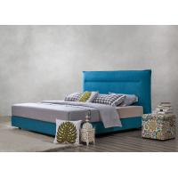 Wholesale Fabric Upholstered Headboard Bed SOHO Apartment Bedroom interior fitout Leisure Furniture from china suppliers
