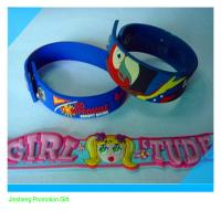 Wholesale factory directly selling gift  PVC wristband bangles from china suppliers