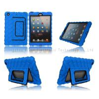Wholesale Plastic cases for iPad mini,Air Antiskid tread,with support,PC+TPU,colors,anti-shock,two-in-one from china suppliers