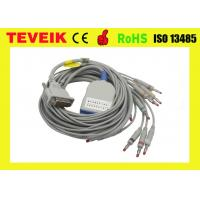 Buy cheap Long Screw Schiller EKG Cable 10 lead ECG Cable and Leadwires for AT3,AT6,CS6,AT5, AT10,AT60 from wholesalers