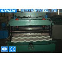 Wholesale Steel  Wave Roof Tile Roll Forming Machine  With Chain Driving from china suppliers
