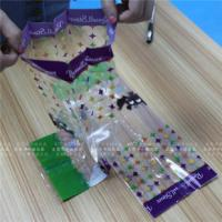 Wholesale Eco Friendly Zipper Stand Up Food Pouch , Small Clear Plastic Bags from china suppliers