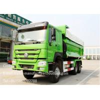 Wholesale ZZ3257N3847D1 Sinotruck Howo 6 * 4 340hp U - shaped Dump Trailer Truck from china suppliers