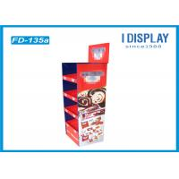 Wholesale 4 Tier Retail POP Cardboard Cake Stand Display With Customized Logo from china suppliers
