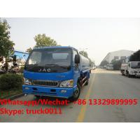 Wholesale Factory sale best price JAC brand 4*2 LHD diesel water tank truck, hot sale good price JAC water sprinkling truck from china suppliers