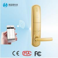 Quality New design 304 Stainless Steel  silvery house/Apartment door lock with phone app for sale