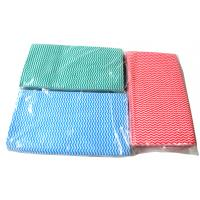 Wholesale Household Multipurpose Spunlace Mesh Cleaning Wipe / Cleaning Cloth 40gsm - 100gsm from china suppliers