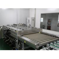 Wholesale Photovoltaic Solar Cell Panel Glass Cleaning Equipment , Glass Washing And Drying Machine from china suppliers