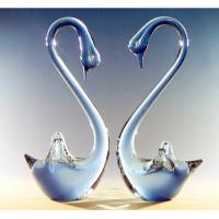 Wholesale Art glass sculptures,art glass birds ,DJ-8006 from china suppliers