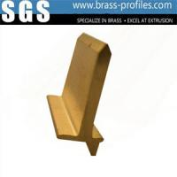 Wholesale Extruded Brass Profiles C3701 Copper Extrusions Alloy Frame from china suppliers