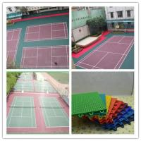 Wholesale Outdoor Badminton Court Flooring Uv Resistance Flat Floor from china suppliers