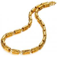 Wholesale Drjobson Jewelry 18K Gold stainless steel necklace hot sales-N03 from china suppliers