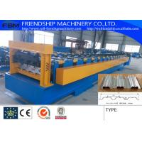 Wholesale 1.0-2.0MM Thickness Galvanized Steel Metal  Floor Deck Panel  Roll Forming Machine With 19 Forming Stations from china suppliers
