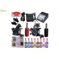 Wholesale 8 Color Ink Starter Tattoo Kits With Sterile Tattoo Needles Rotary Machine from china suppliers