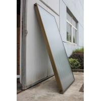 Quality High Efficiency flat panel Solar Collector  with size 2squre meter for sale