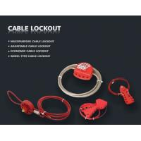 Wholesale L31 Wheel Type Cable lockout, safety lockout from china suppliers