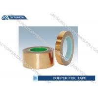 Wholesale Red double sided copper tape / conductive copper self adhesive tape from china suppliers