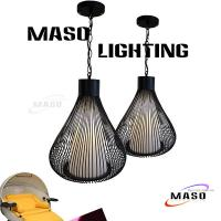 Wholesale Hottest Wholesaler Product Residential Pendant Lamp Black White Color MS-I6011 Chain Whire from china suppliers