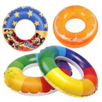 Wholesale EN71 / Reach5 PVC orange pringting Inflatable Swim Rings adults from china suppliers