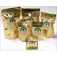 Wholesale golden color stand up tea bags from china suppliers