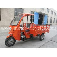 Front Cabin Covered Motorcycle Three Wheel RS200ZH-FB With 12V 9A Battery
