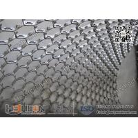 Wholesale AISI410S Hexagonal Mesh Grating for Ducts and Flue Gas Lines | 10X1.0X45mm | China Exporter from china suppliers