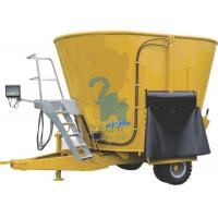 Wholesale Vertical TMR Feed Mixer Fodder Wagons For Cattle Farm 4pcs Tyres from china suppliers