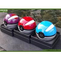Wholesale Fashion Mini Pokemon Ball Li-Polymer Power Bank Portable Phone Charger LED Light from china suppliers