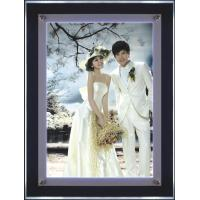 Wholesale A4 Slim Crystal LED Light Box with Acrylic Panel Frame For Wedding Photo Display from china suppliers
