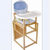 Wholesale Wooden Adjustable High Chairs For Babies / Folding Baby Dinner Chair from china suppliers