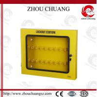 Buy cheap Combination Safety Long Steel Lockout Station Used With Padlocks from wholesalers