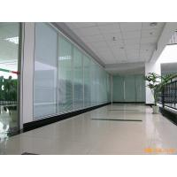 Wholesale Acoustic Insulation Office Glass Partition Systems , Glass Bathroom Partition Walls from china suppliers