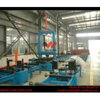 Wholesale Automatic H Beam Assembly Machine With Two Sets Of Co2 Tack Welding 2000mm Web Height from china suppliers